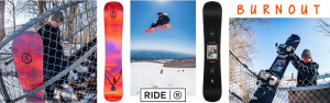 Ride Snowboards Burnout