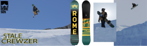 Rome Snowboards Stale Crewze